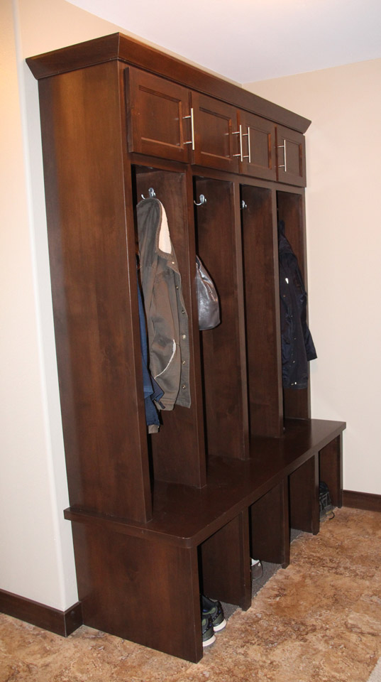 Mud Room | Brenny Custom Cabinets
