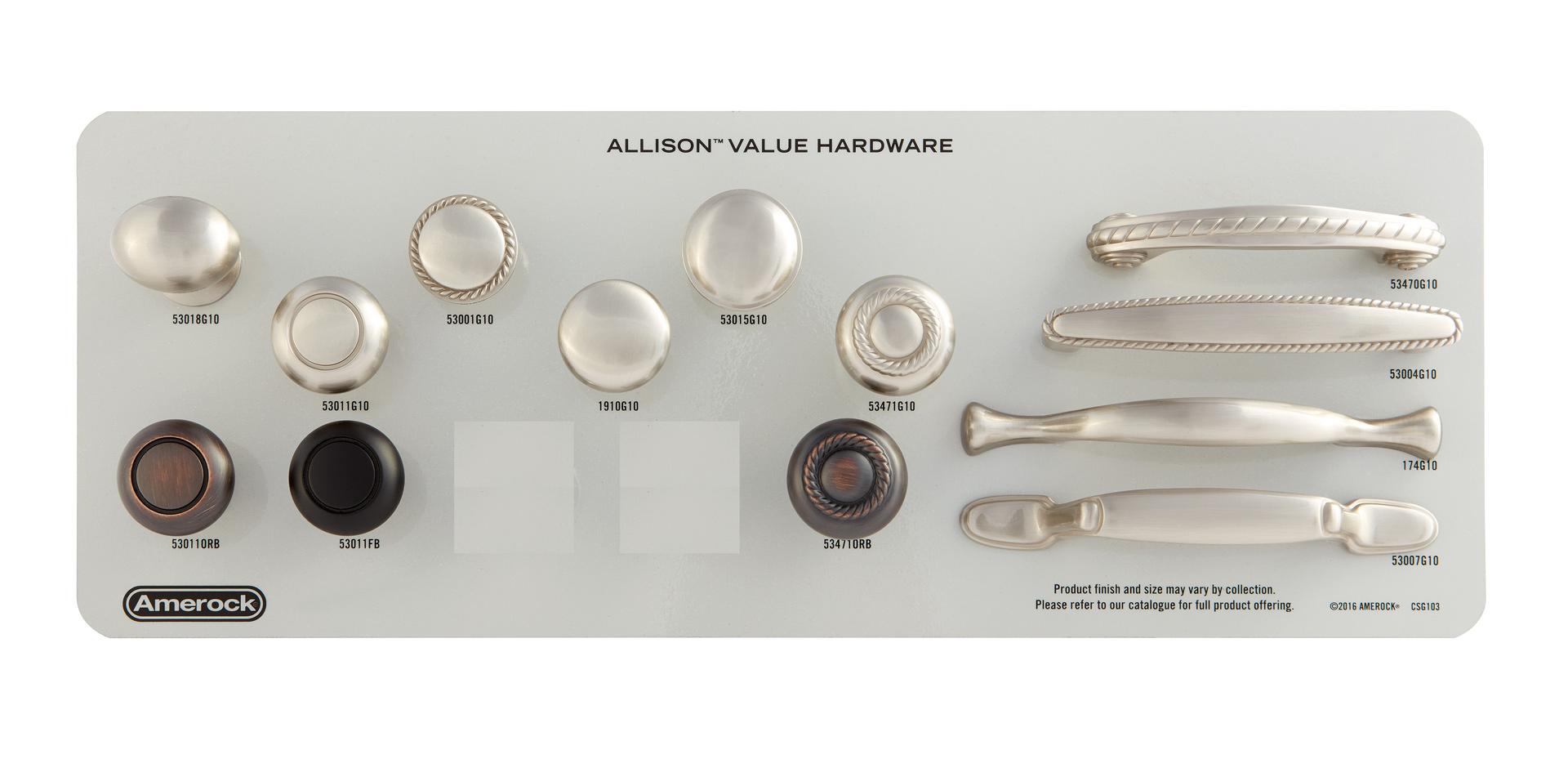 Allison™ Value Hardware