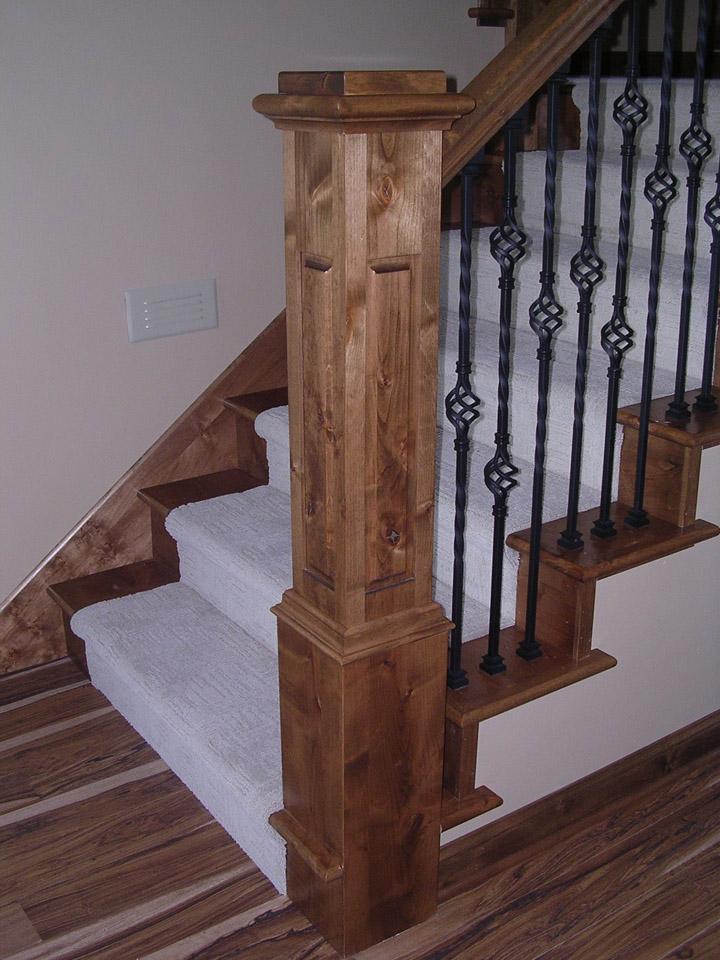 Pillars & Beams   Brenny Custom Cabinets