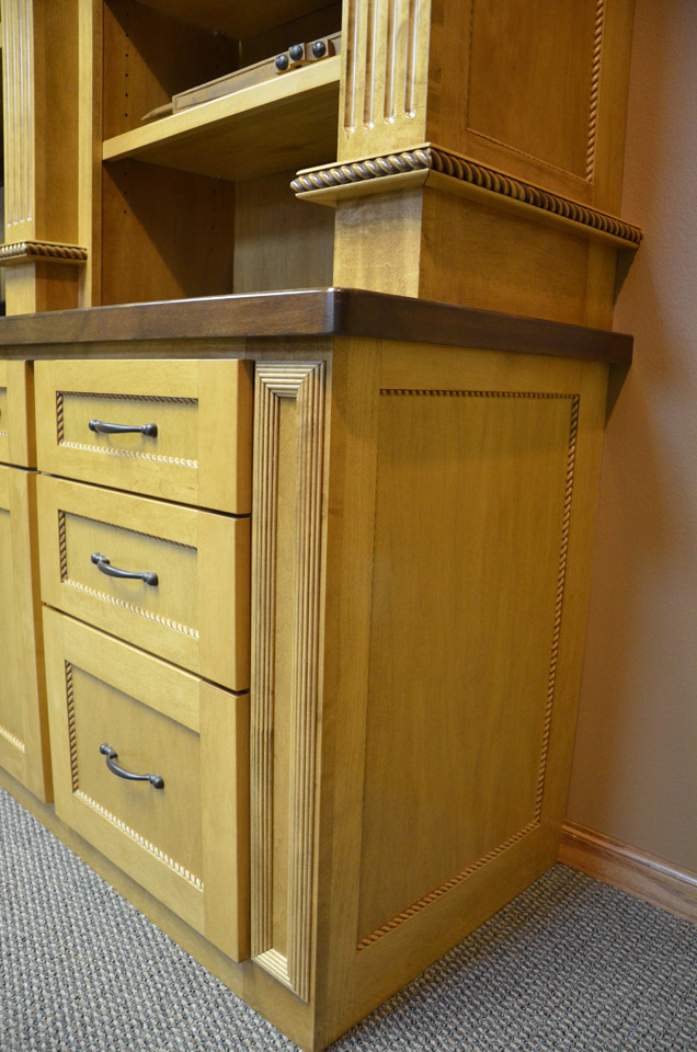 Home Office Desk | Brenny Custom Cabinets