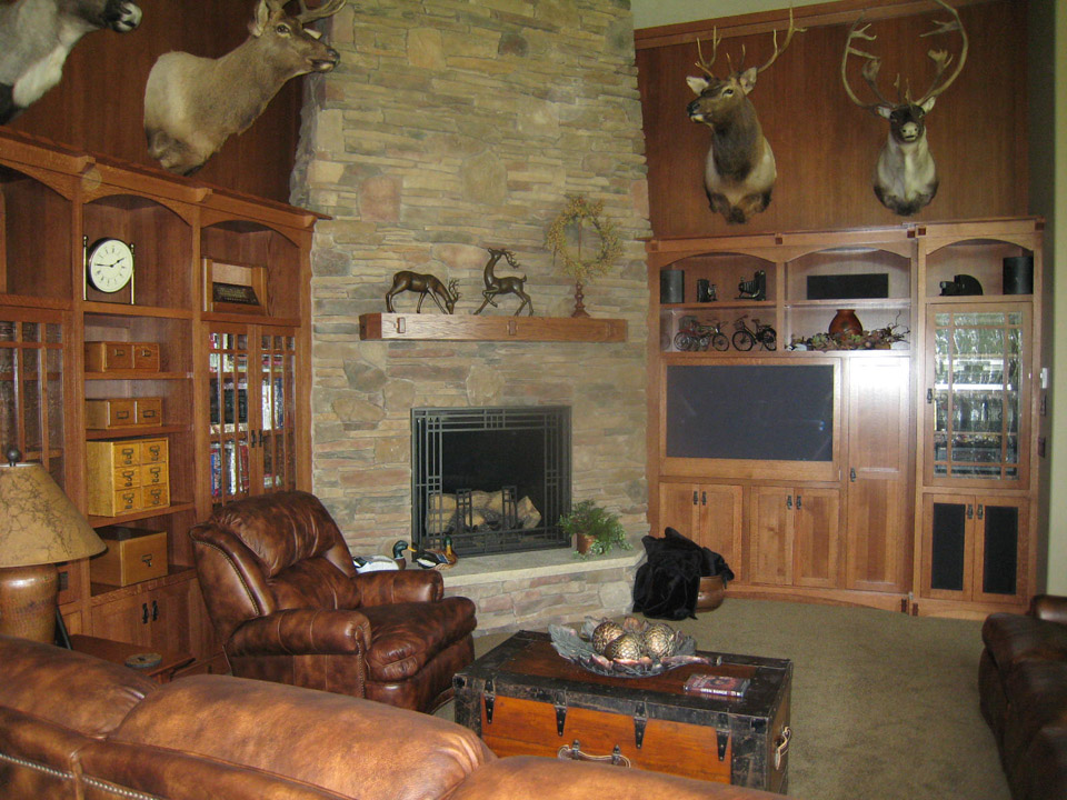 Entertainment Centers & Fireplaces | Brenny Custom Cabinets