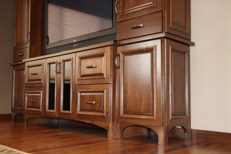 Entertainment Centers | Brenny Custom Cabinets