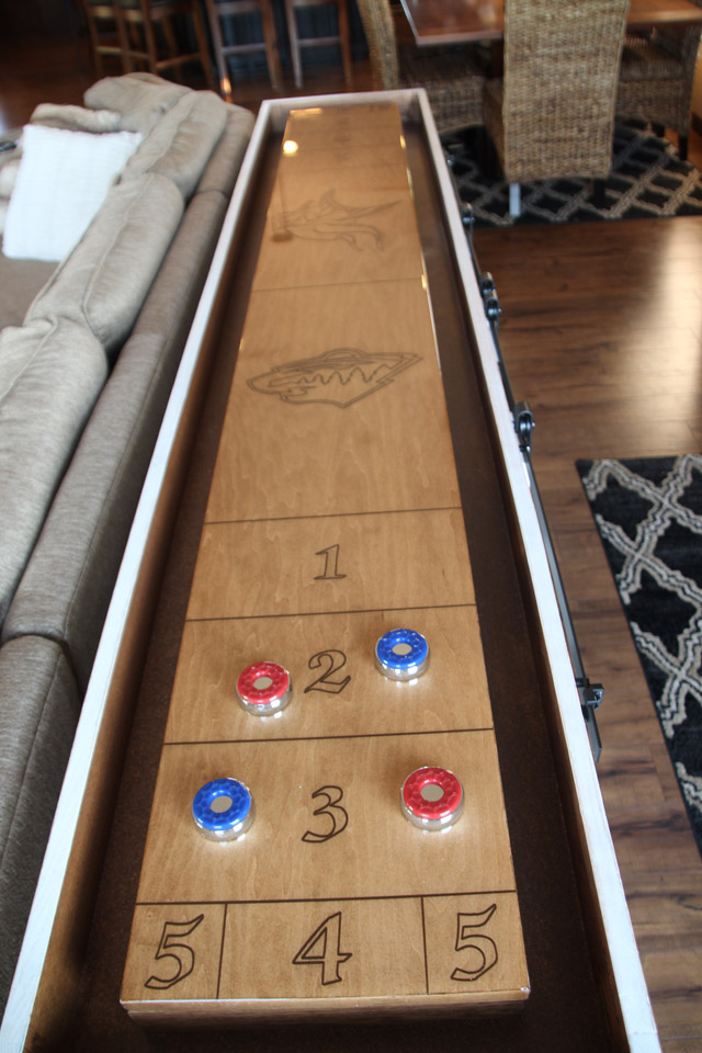 Gaming Table | Brenny Custom Cabinets