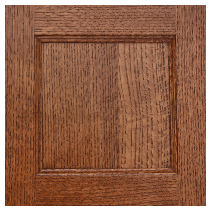 Qtr Sawn Oak Stained